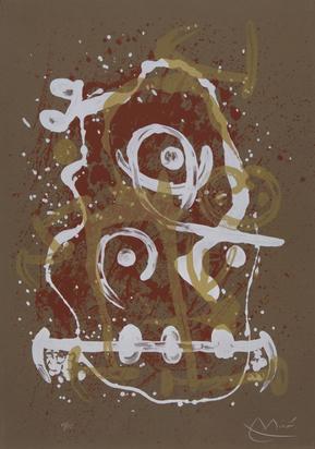 Miró Joan, Chevauchée-brun