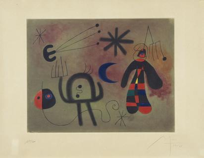 Miró Joan, nach. L'oiseau fusée