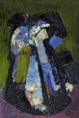 Liner Carl, Composition blue/black/white