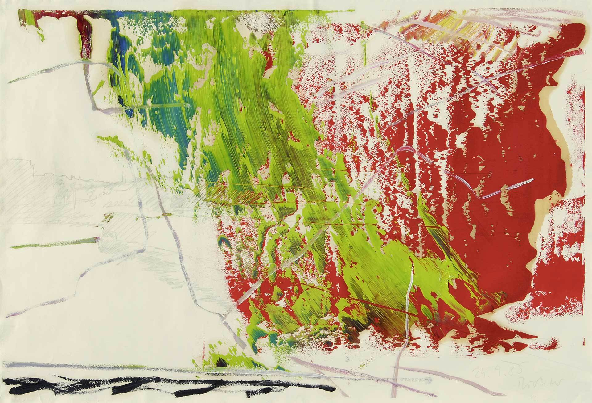 Richter Gerhard, Untitled, 24.9.85