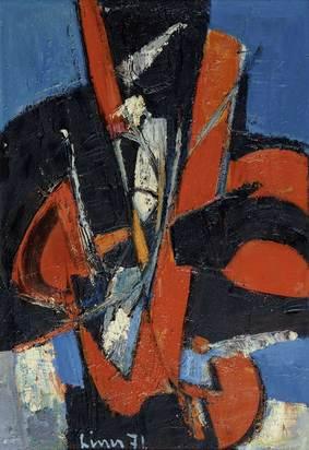 Liner Carl, Composition red/blue