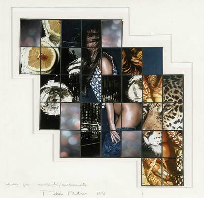 Phillips Peter, Study for Mosaikbild/ Displacements