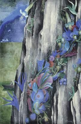 Blumen im Fels, 1924 and 1965/70
