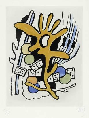 Léger Fernand, Les dominos