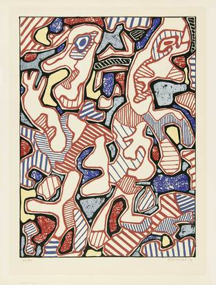 Dubuffet Jean, Affairements