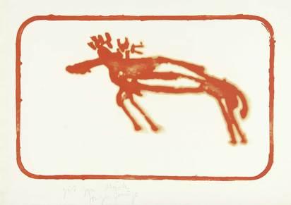 Beuys Joseph, Elch