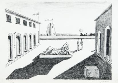 Chirico Giorgio de, Piazza d'Italia