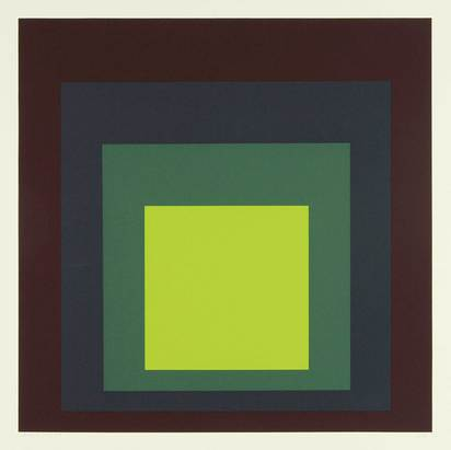"Albers Josef, I-S k, from ""Homage to the Square"""