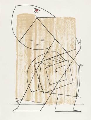 Ernst Max, L'homme à la lisière de la forêt