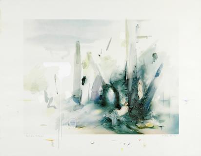 Hamilton Richard, Soft Blue Landscape