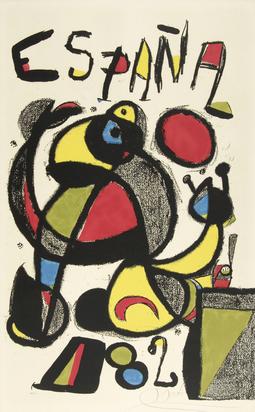 Miró Joan, Copa del Mundo de Futbol - España