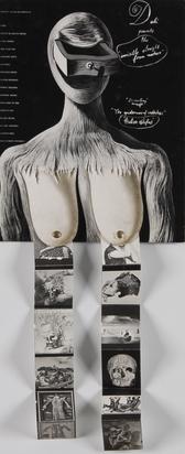 Dalí Salvador, Schubladenfrau, Souvenir-Katalog zur Dalí-Ausstellung der New Yorker Galerie Julien Levy, 10. Dec. 1936 - 9. Jan. 1937