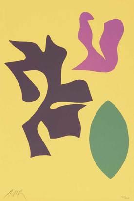 """Arp Jean, Documenta Geigy, 1965, aus """"Documenta Geigy, Das Unbehagen in der Kunst"""""""