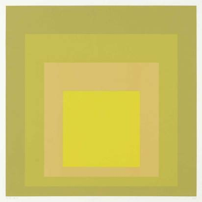 """Albers Josef, SP II, aus """"Hommage to the Square"""""""
