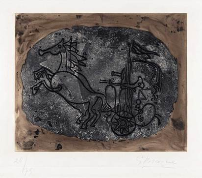 Braque Georges, Char noir (Char V)