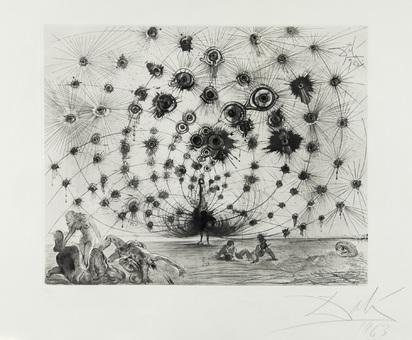 "Dalí Salvador, Argus, aus ""Mythologie"""