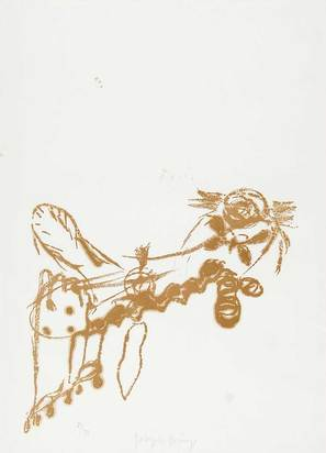 "Beuys Joseph, O. T. (Bienenkönigin), from ""Spur I"""