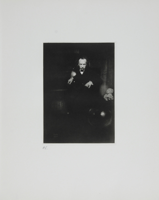 "Steichen Edward, Richard Strauss, New York, 1905, aus ""Edward Steichen. The Early Years 1900-1927"""