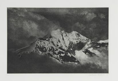 Burkhard Balthasar, Mappe. Alpen