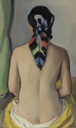 Barth Paul Basilius, Femme nue de dos