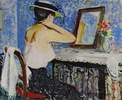Gall François, Jeune fille devant le miroir