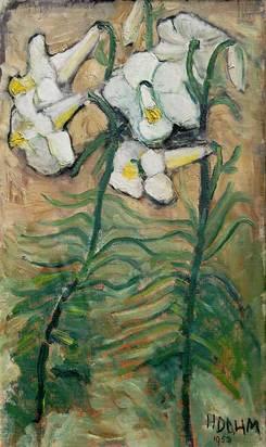 Dahm Helen, White Lilies