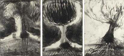 Cahn Miriam, L.I.S/M.G.A zarte Bäume (lesen in Staub mit geschlossenen Augen)
