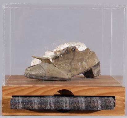 Spoerri Daniel, Bread-dough object, 1991