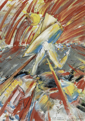 Attersee Christian Ludwig, Zur Braut (schnell kann die Sonne nicht scheinen), 1982