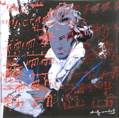 Warhol Andy, Ludwig van Beethoven