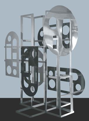 "Schöffer Nicolas, LUX-SM2, ""sculpture multifonctionnelle"",  1972"