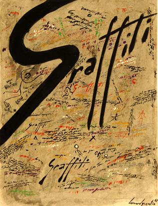 Quentin Bernard Maurice, Graffiti, 1961