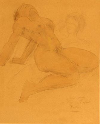 Rodin Auguste, Femme nue