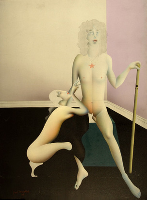 Wunderlich Paul, Two German Spartakists Posing as Jupiter and Thetis, 1973
