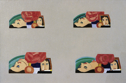 Wesselmann Tom, Multiple Study for Bedroom Painting 32, 1971