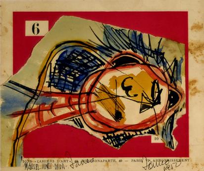 Janco Marcel, Dada, 1950
