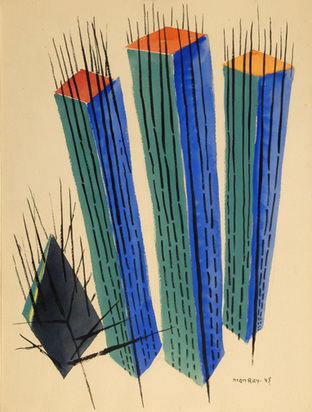 "Man Ray, Untitled, from the artist's ""cactus"" series, 1945"