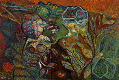 Brignoni Sergio, Métamorphose végétale, 1942