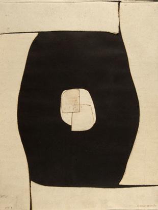 Marca-Relli Conrad, Untitled H/S E, 1971