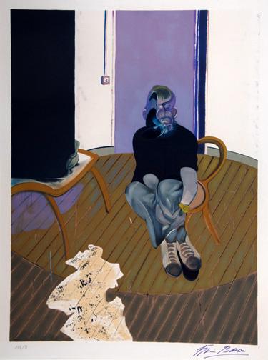 Bacon Francis, Study for Self-Portrait, 1973