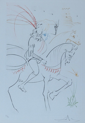 Dalí Salvador, Portfolio. La Quête du Graal, 1975