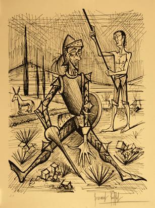 Buffet Bernard, Don Quichotte avec pique cassé