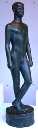 Geiser Karl, Jünglingsstatuette
