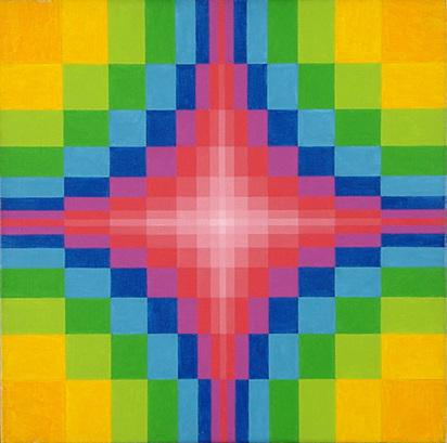 Gessner Robert Salomon, Farbwechselkreuz III, 1974