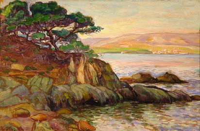 Peské Jean, Au bord de la mer
