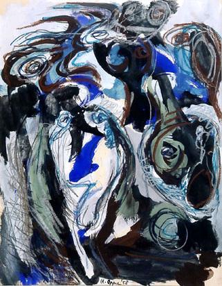 Appel Karel, Untitled, 1958