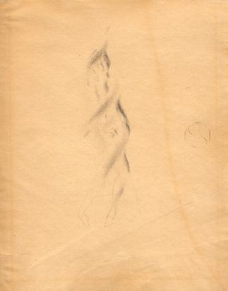 Meyer-Amden Otto, Knabenakt