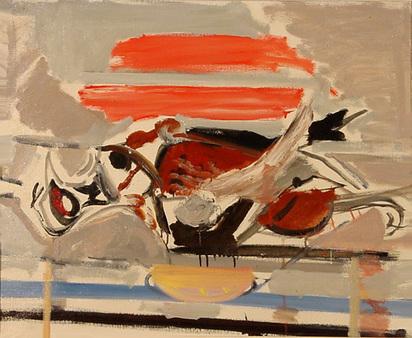 Gubler Max, Liegender Fasan, 1957