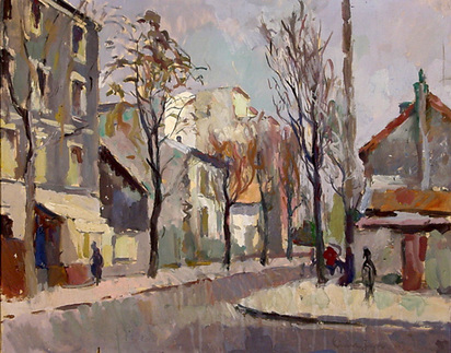 Liner Carl, Strasse in Montrouge, Paris, 1943