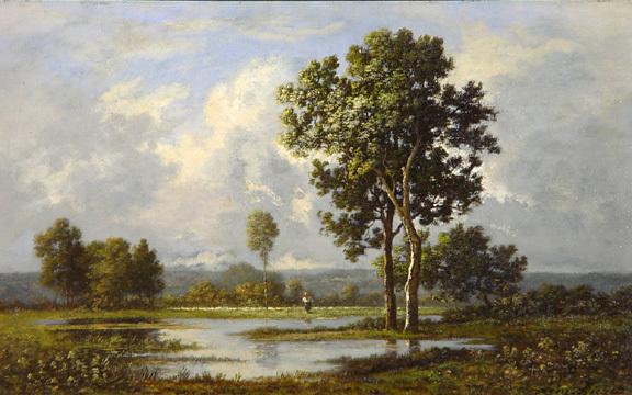 Richet Léon, Forêt de Fontainebleau